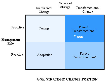 strategic change management thesis