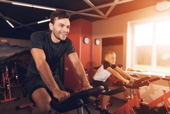father son gym