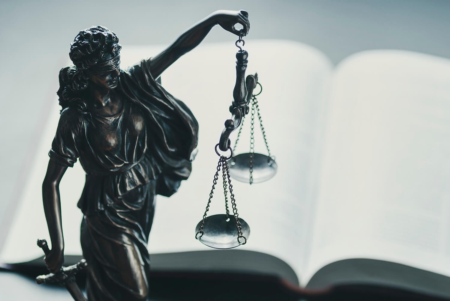 justice with scales